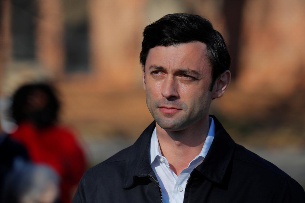 Представитель демократов в штате Джорджия Джон Ософф / фото REUTERS