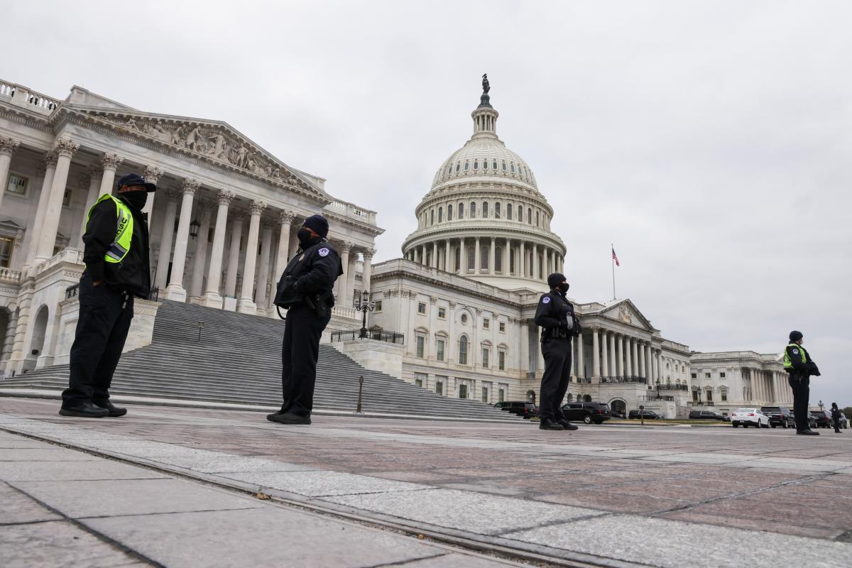 Инаугурация Байдена пройдет 20 января \ фото REUTERS