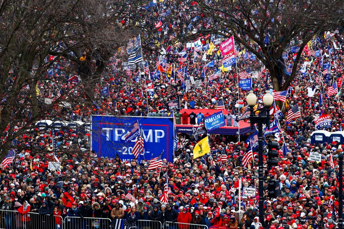 У центрі Вашингтона перекрито рух транспорту на багатьох вулицях / фото REUTERS