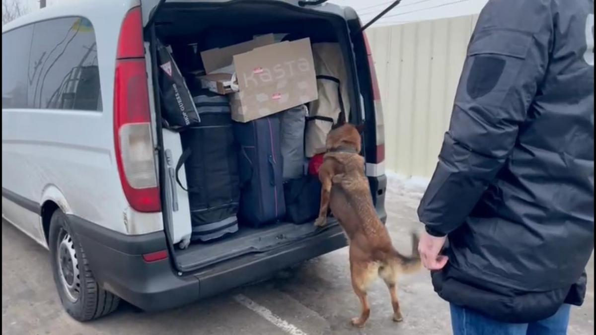 Наркотик обнаружила служебная собака / фото dpsu.gov.ua