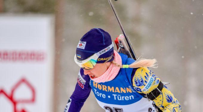 Юлія Джима фінішувала 14-ю / фото biathlon.com.ua