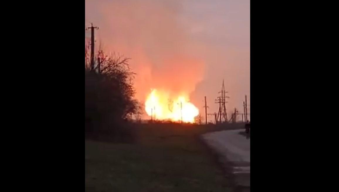 Взрыв на Полтавщине/ Скриншот с видео