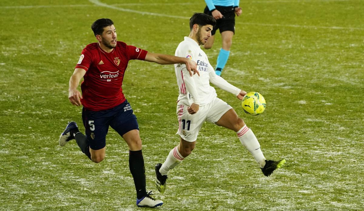 Осасуна - Реал - 0:0 / фото REUTERS