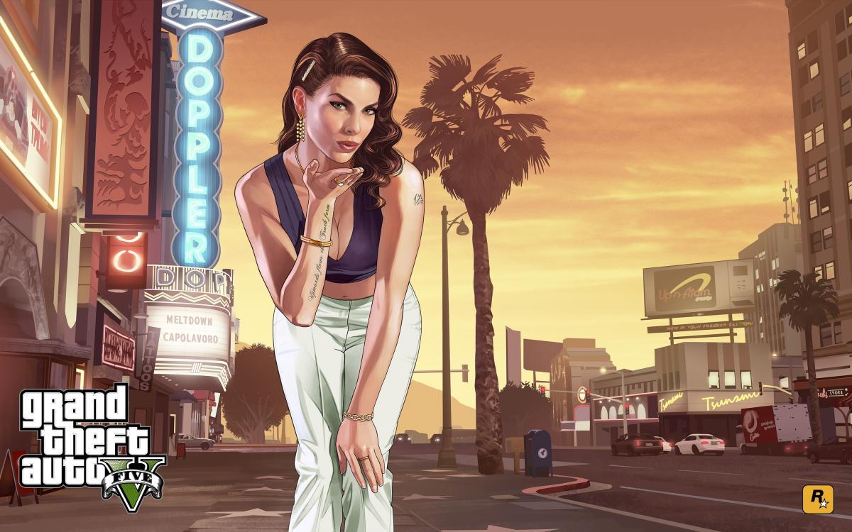 В GTA VI главной героиней будет девушка-хакер /фото Rockstar Games