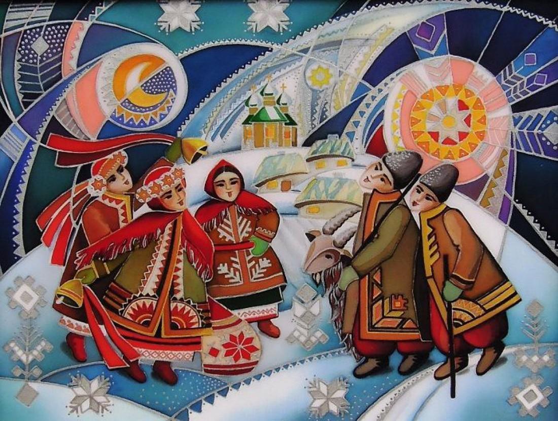 Колядки на Старий Новий рік / фото pinterest.com