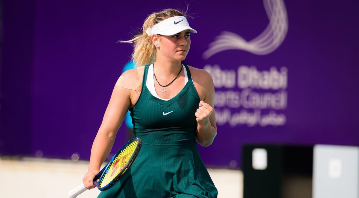 Марта Костюк выиграла в трех сетах / фото WTA