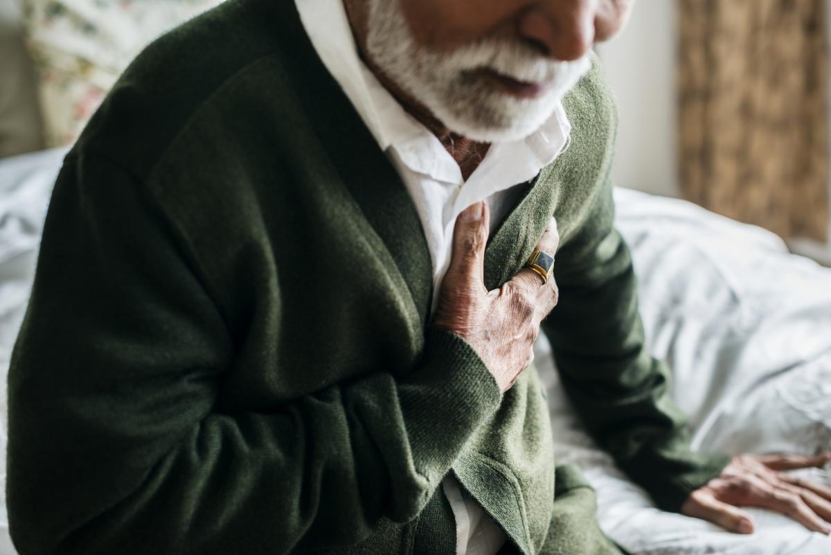 Синдром сердечной недостаточностивдвое повышает риск смертиот коронавируса / фотоua.depositphotos.com