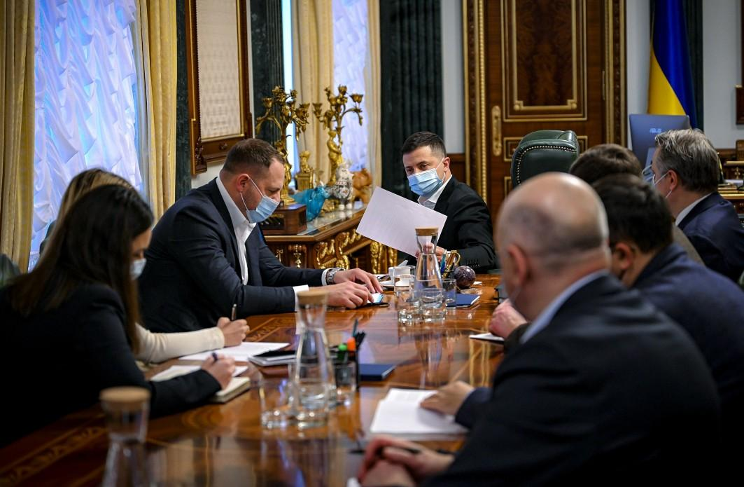 Президент обсудил зимний карантин с чиновниками / president.gov.ua