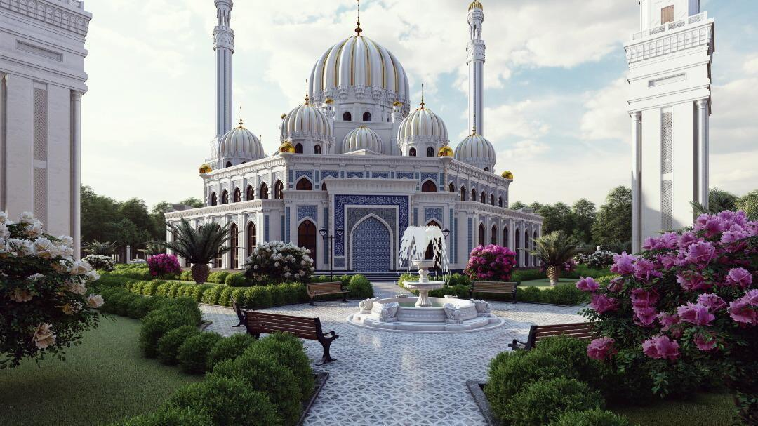Проект мечети имени Кадырова / фото grozny-inform