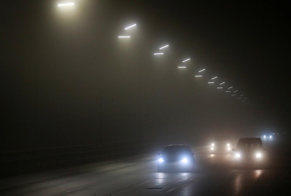 Ситуація на дорогах Києва 12 січня / фото REUTERS