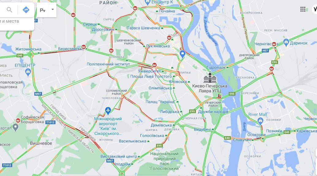 Дані google.com/maps