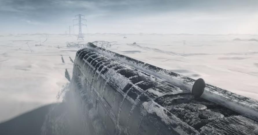 "Кадр з серіалу ""Крізь сніг"" / скріншот"