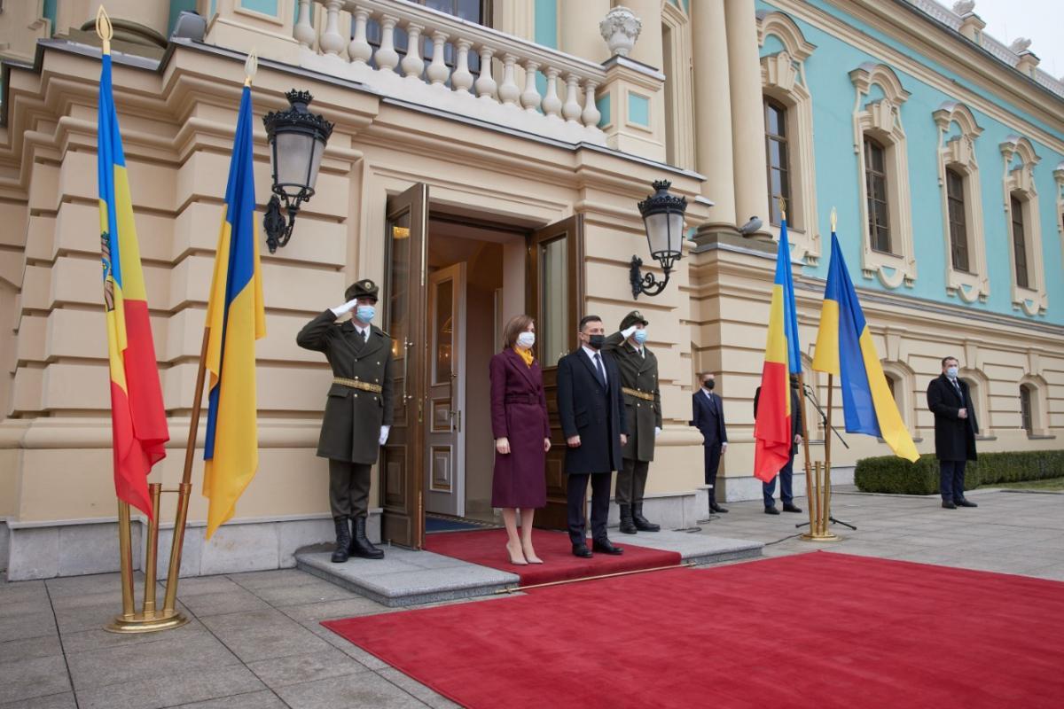 В Киеве продолжается встреча Зеленского и Санду / фото Владимир Зеленский, Twitter