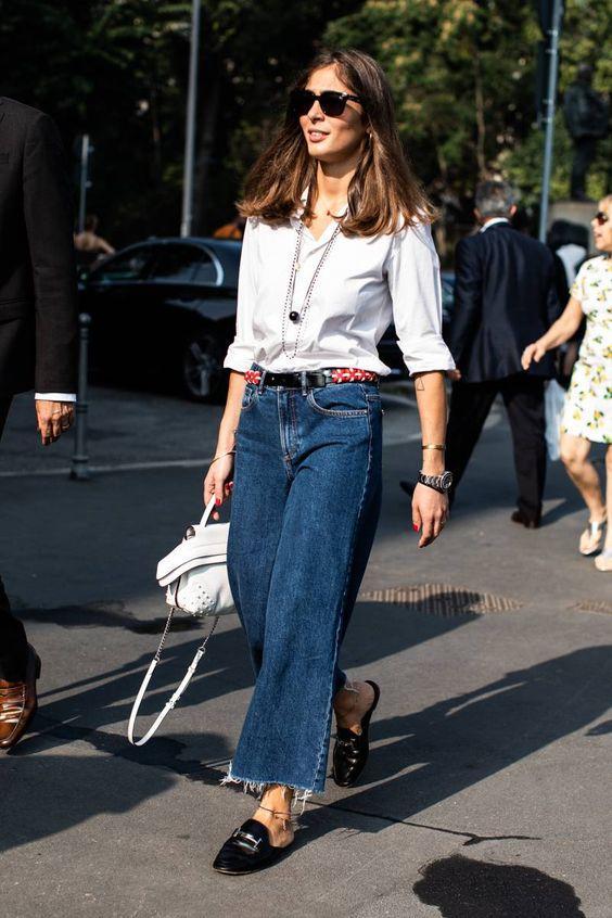 Модные джинсы / pinterest.com