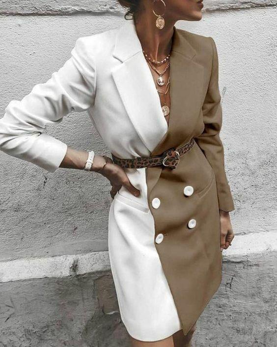Жакет можна носити як плаття / pinterest.com