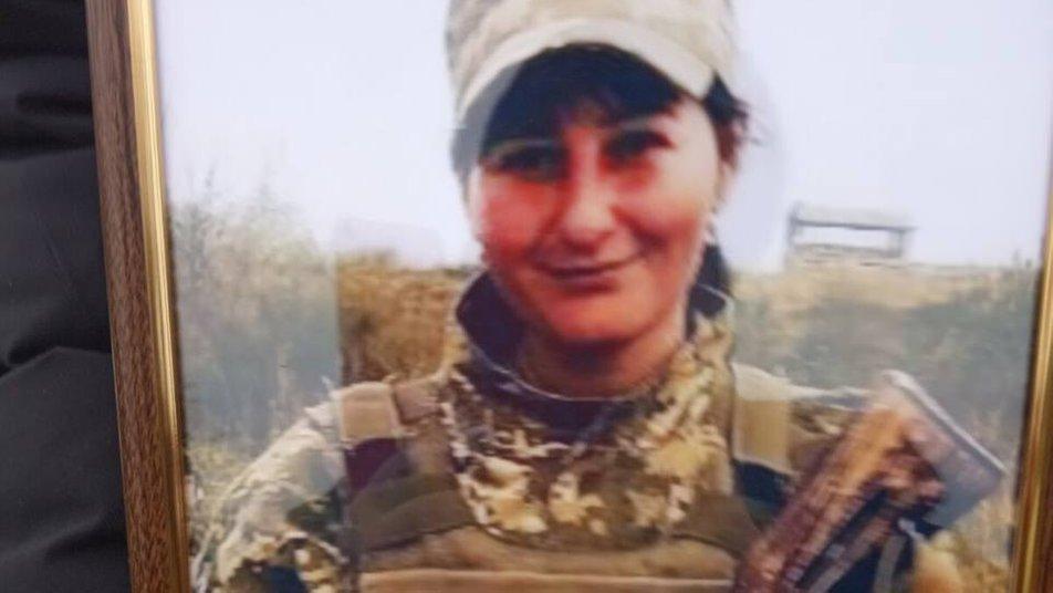 Вікторія Слободянюк служила у 59-й бригаді/ фото Суспільне