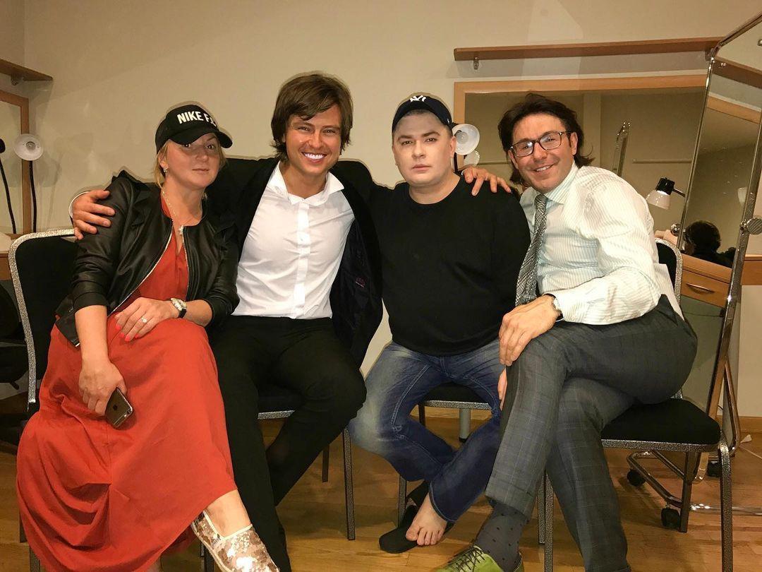 Данилко нібито привітав Малахова з днем народження / instagram.com/shalyapin_official
