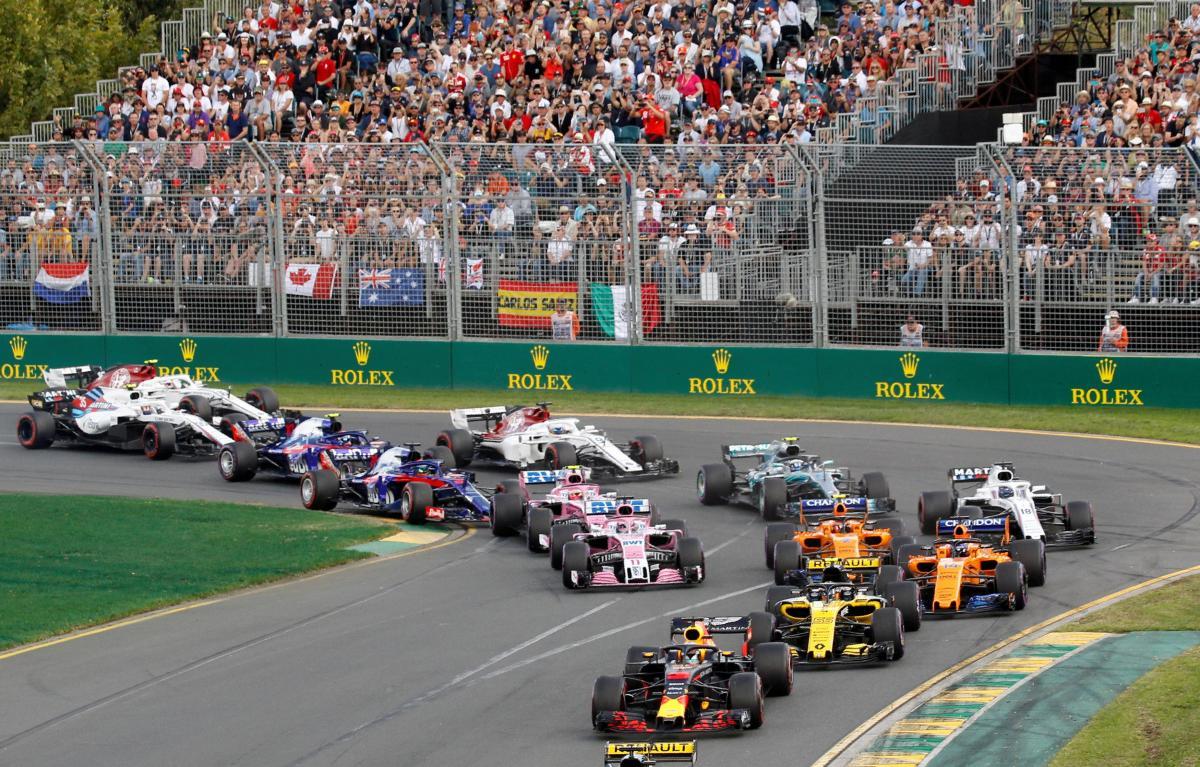 Гонка на Гран-при Австралии / фото REUTERS