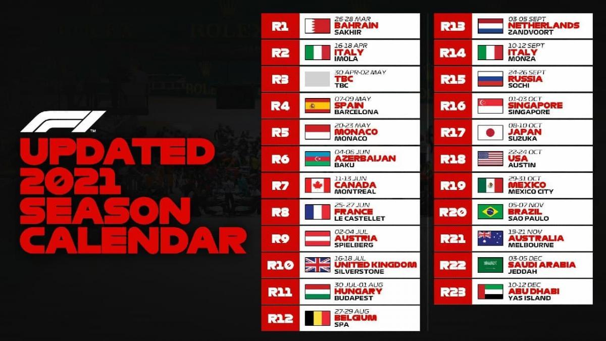 Календарь сезона-2021 / фото sport.segodnya.ua