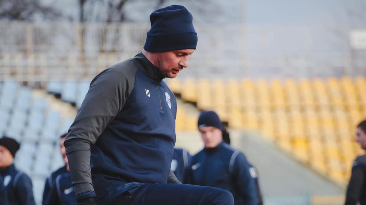 Артем Мілевський готується до сезону у складі Миная / фото ФК Минай