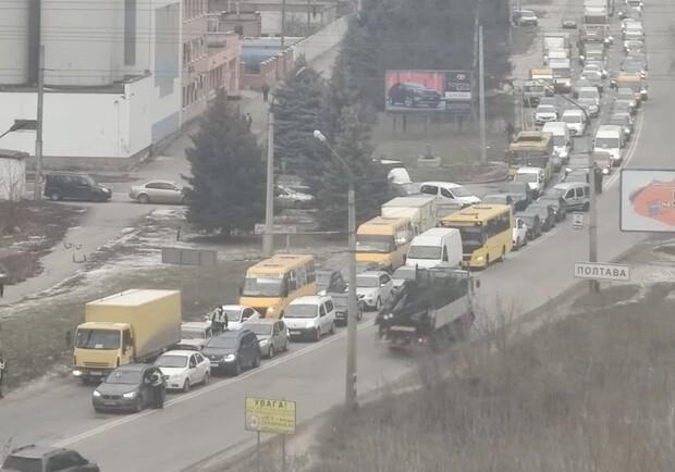 Полиция перекрыла все выезды из Полтавы из-за перестрелки / фото poltava.to