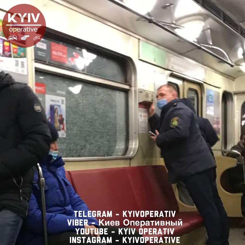 На место прибыли правоохранители / Киев Оперативный Facebook