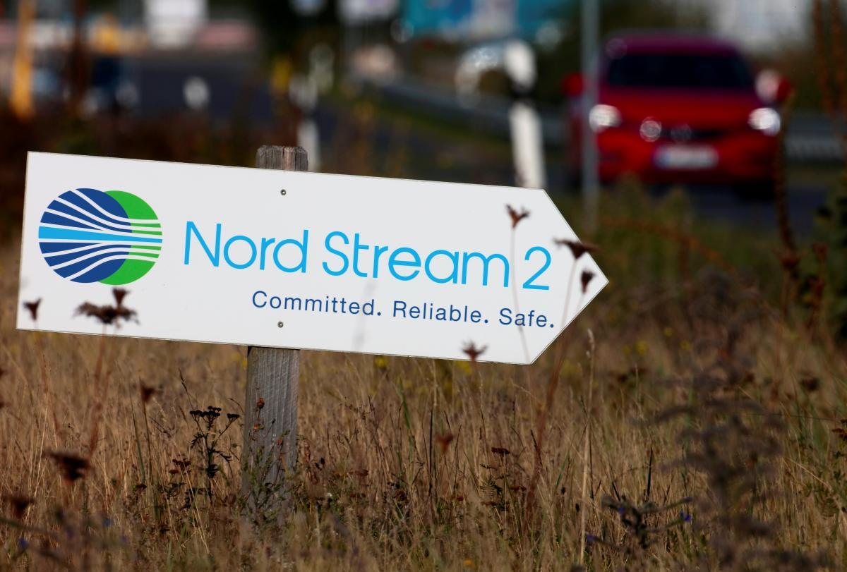 """Газопровод """"Северный поток-2"""" построен уже на 95% / фото REUTERS"""