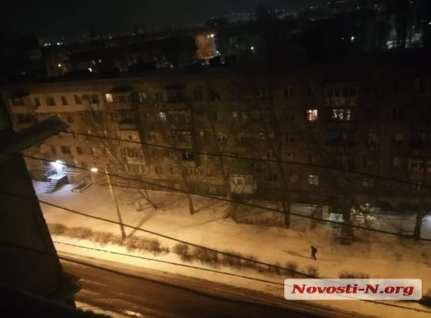 Снег в Николаеве