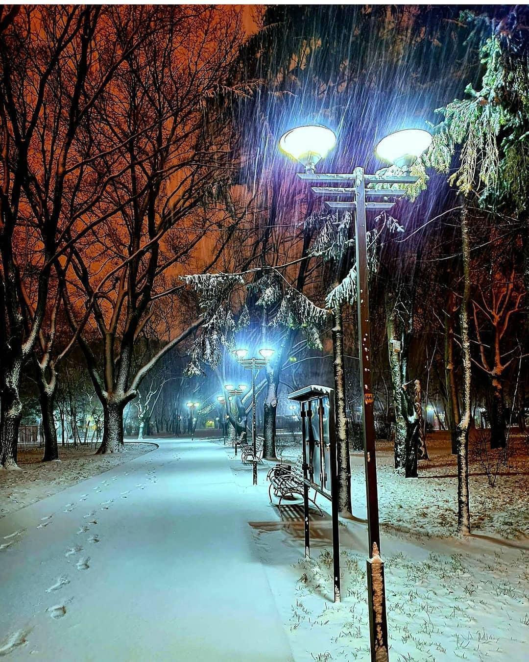 Заснеженная Одесса