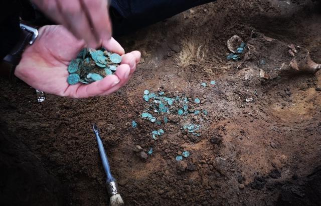 Археологи предполагают, что клад относится к первой половине 16 века/ фото Mukachevo.net