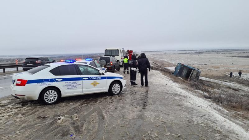 За даними російських ЗМІ, за кермом автобуса перебував українець / фото ГУ МВС Росії