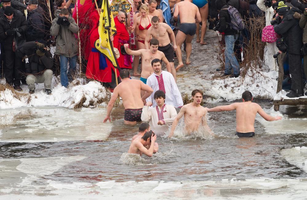 Купание на Крещение Господне / фото ua.depositphotos.com