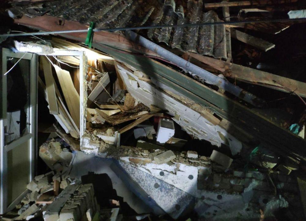 При взрыве пострадали два человека / фото ГСЧС