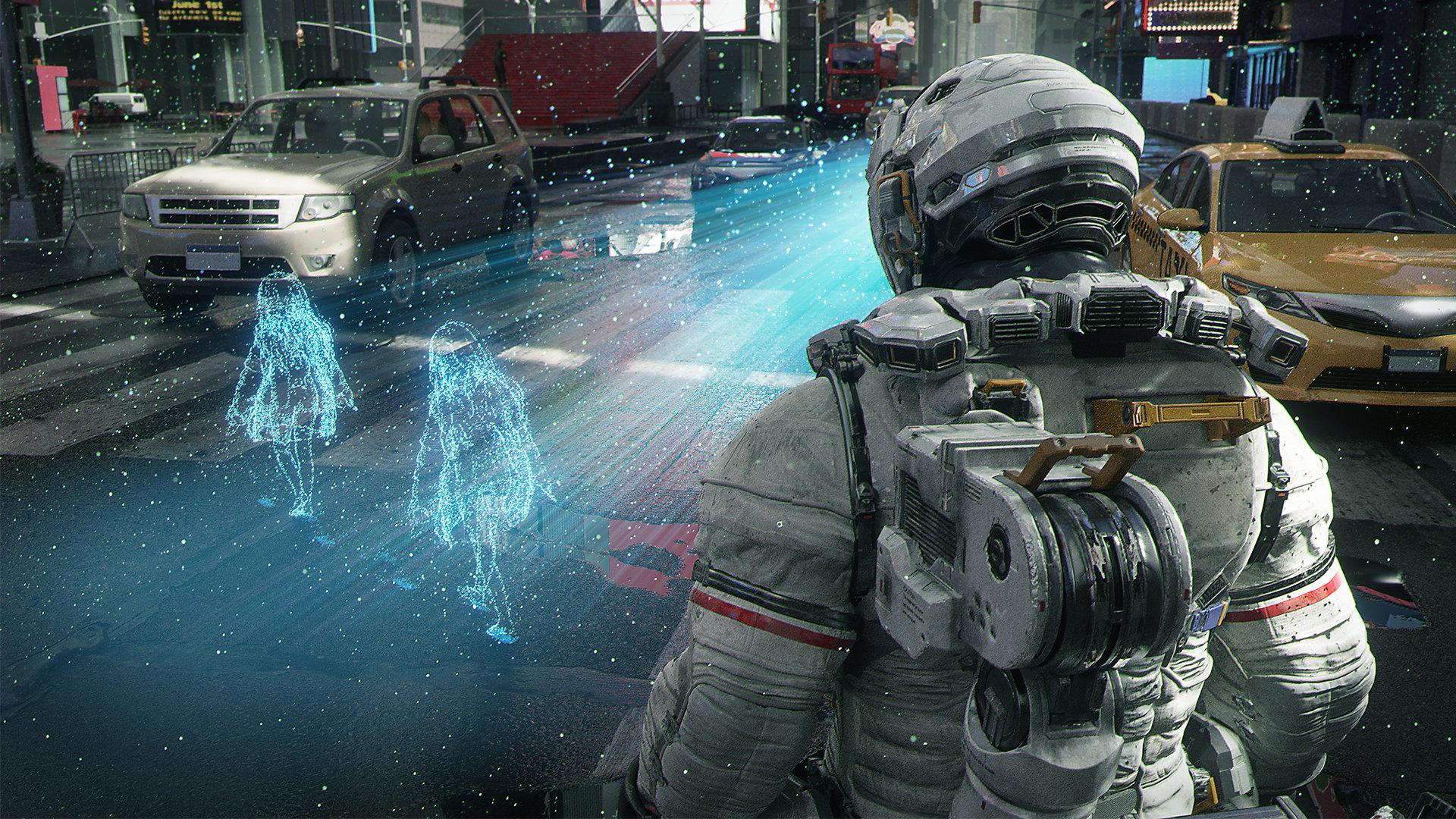 Релиз игры Pragmata перенесен на 2023 год / скриншот из трейлера