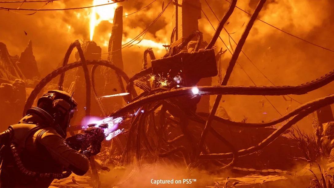 У грі будуть використовуватися можливості геймпада DualSense / фото blog.playstation.com