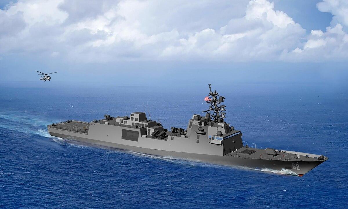 Проект перспективного американського фрегата / U. S. Navy