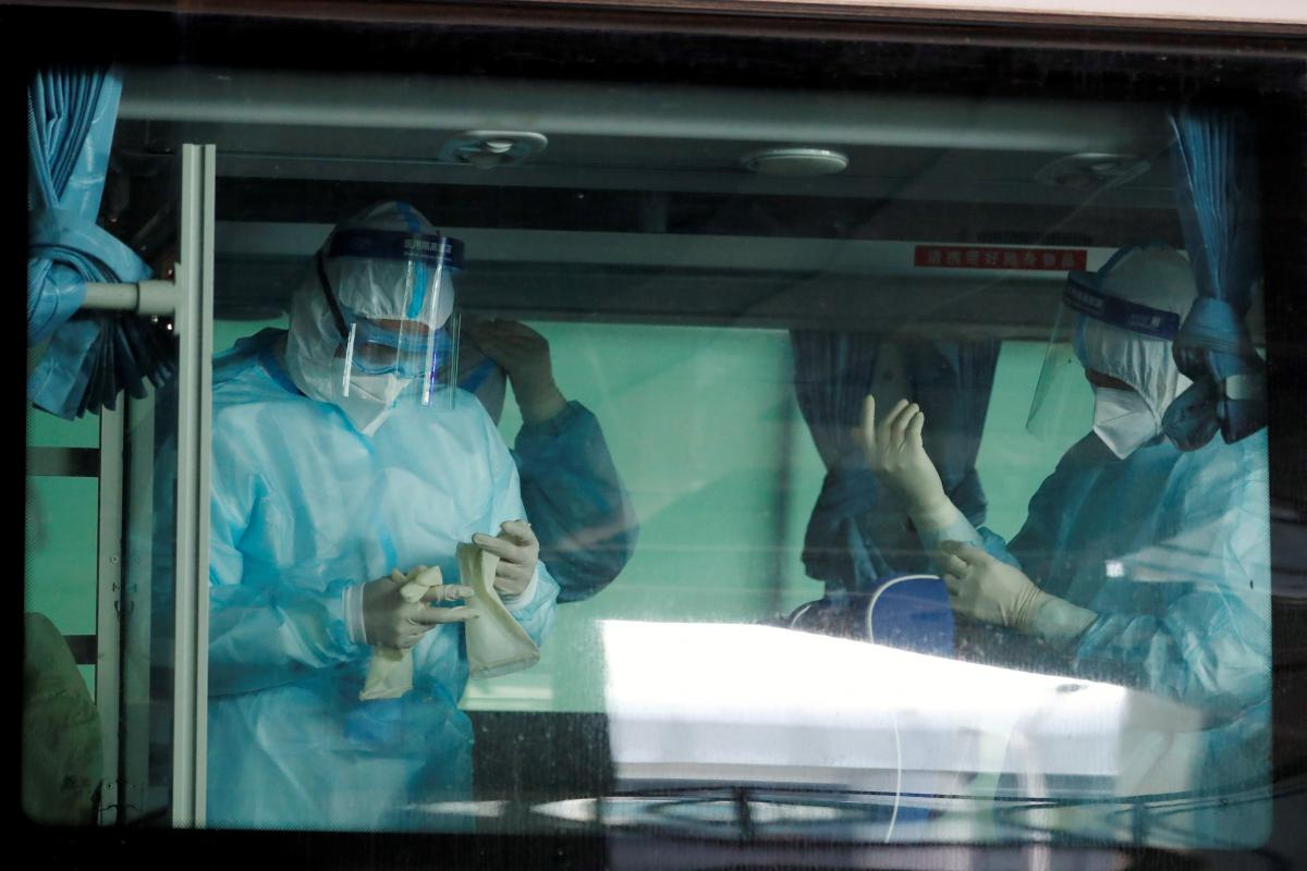 В китайском Ухане снова фиксируют случаи коронавируса / REUTERS