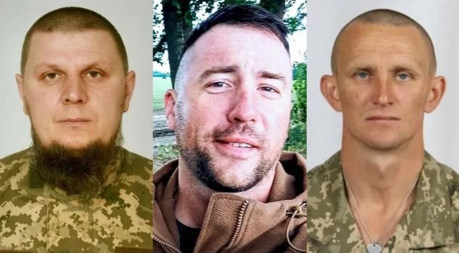 Дмитро Красногрудь, Микола Ілін, Ярослав Журавель були нагороджені орденами посмертно