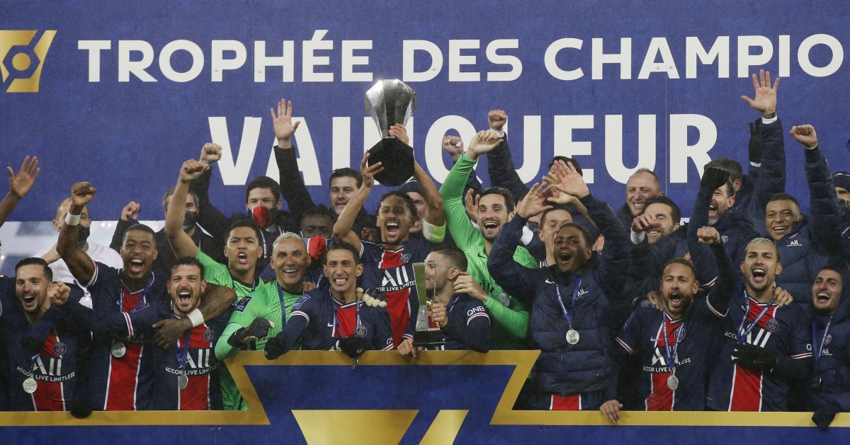 ПСЖ - обладатель Суперкубка Франции / фото REUTERS