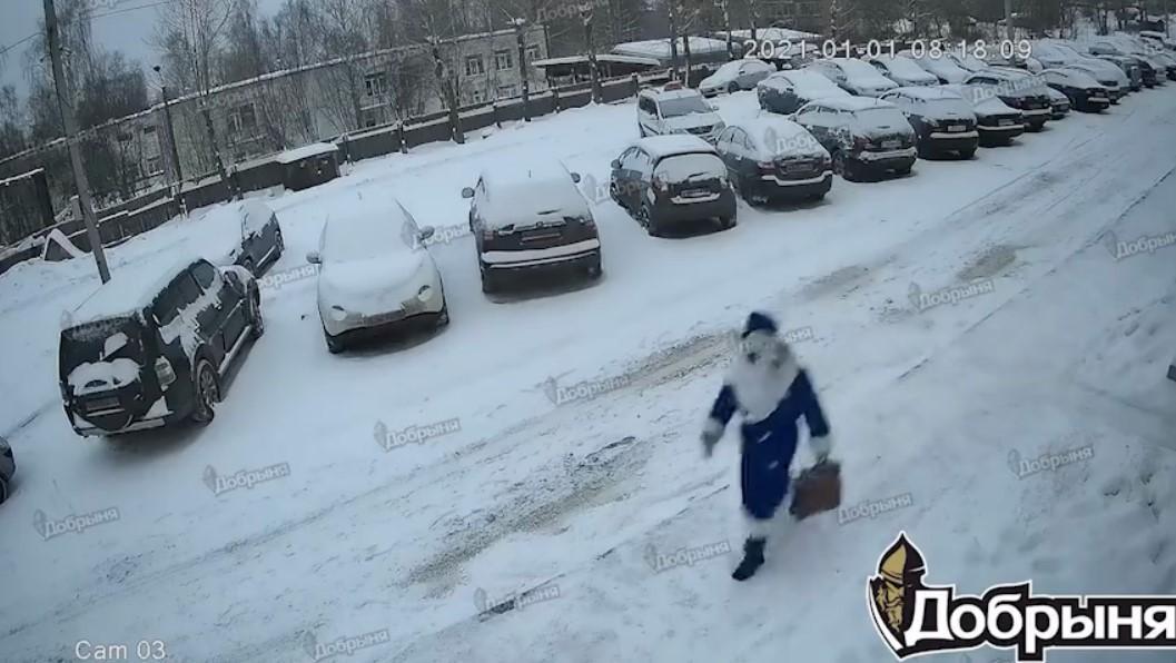 Инцидент произошел 1 января/ скриншот из видео