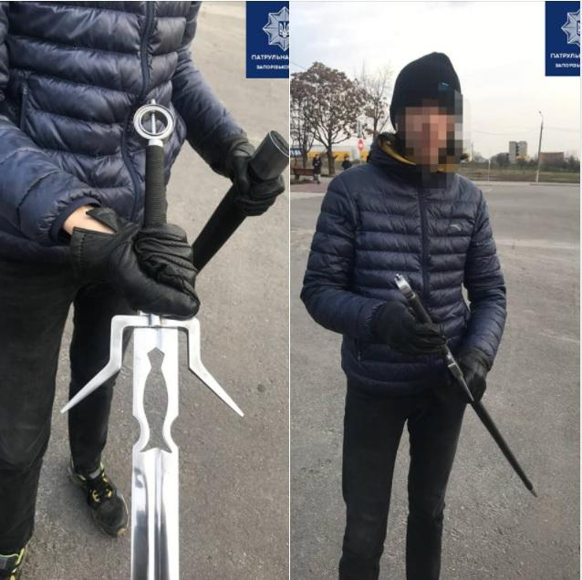 фото патрульної поліції Запорізької області