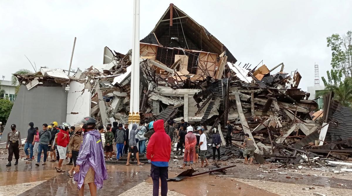 Землетрус пошкодив щонайменше 62 будинки / REUTERS