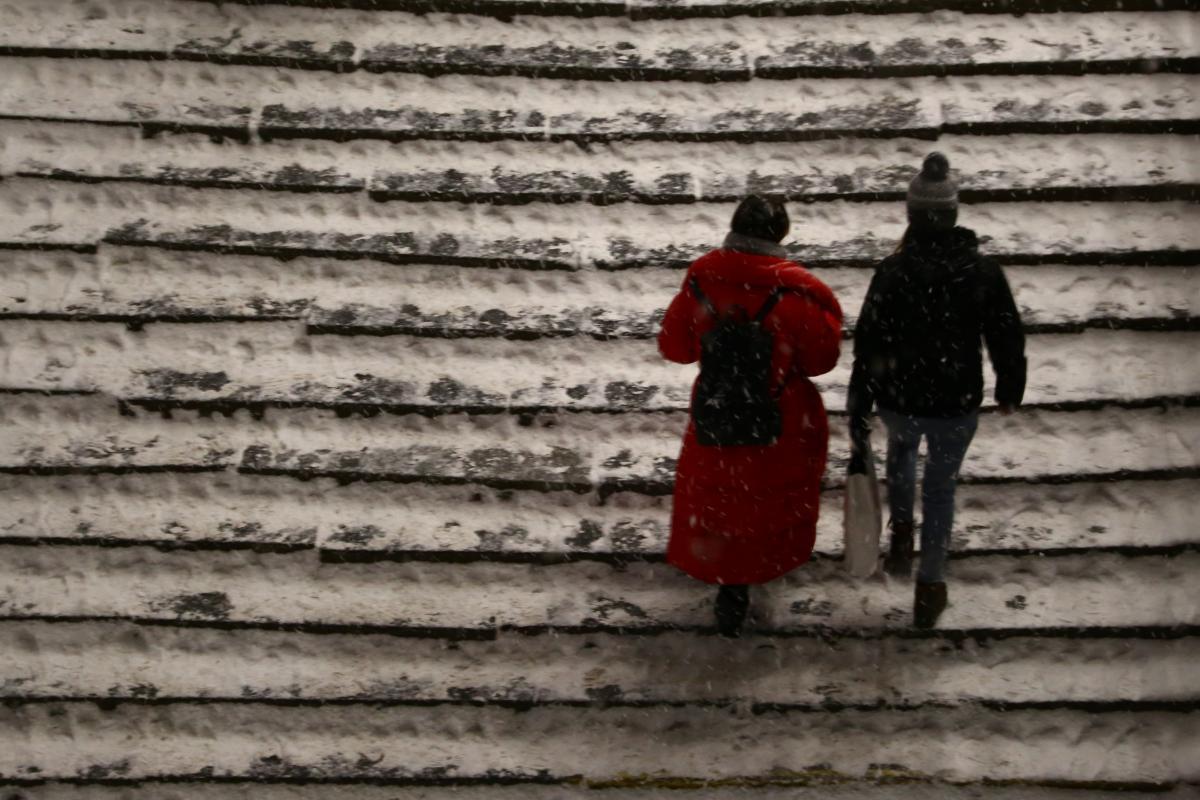 Сегодня в Киеве будет очень холодно / фото УНИАН,Денис Прядко