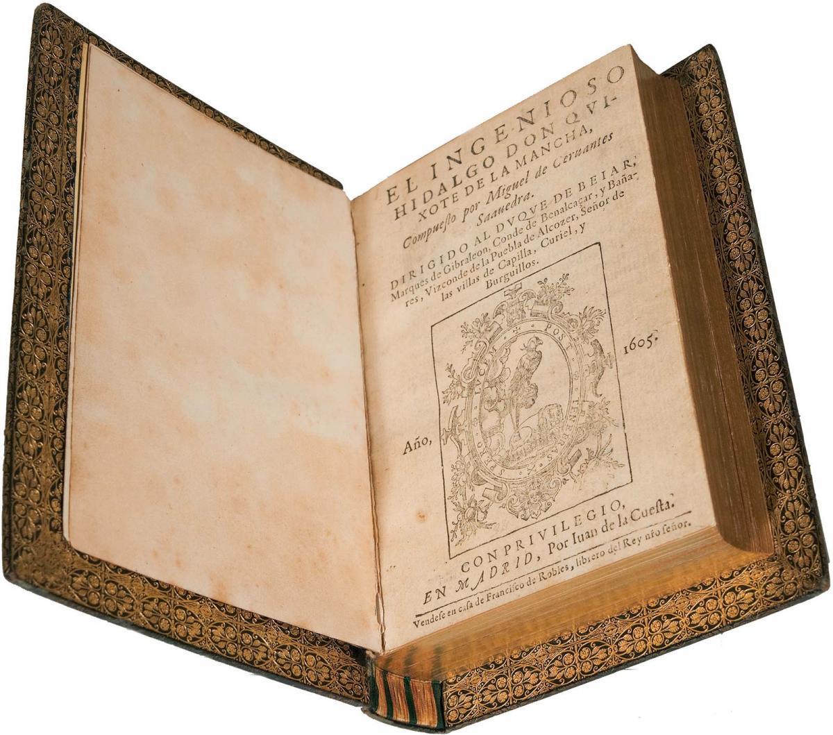 В этот день в 1605 году впервые был опубликован роман Сервантеса «Дон Кихот» / фото britannica.com