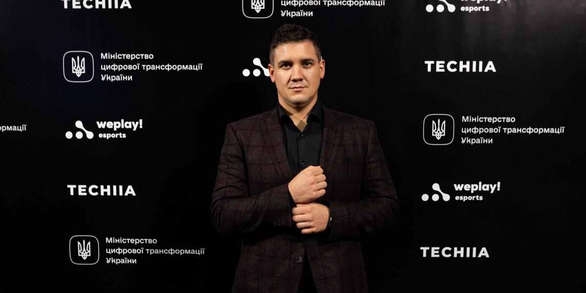 CEO киберспортивного медиахолдинга WePlay Esports Олег Гуменюк /фото пресс-служба WePlay Esports