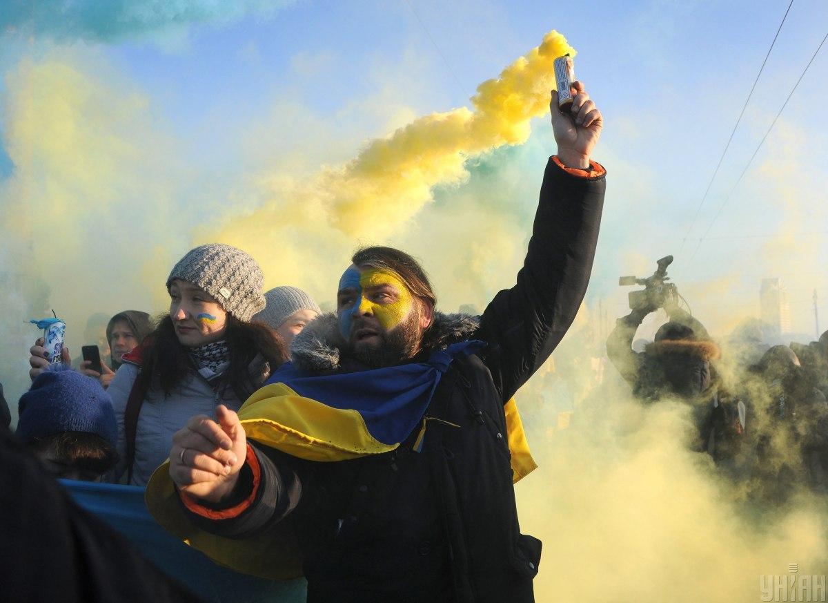 22 января 1918 года Центральная Рада своим четвертым универсалом провозгласила Украинскую Народную Республику самостоятельным, независимым, свободным государством / Фото УНИАН, Алексей Иванов
