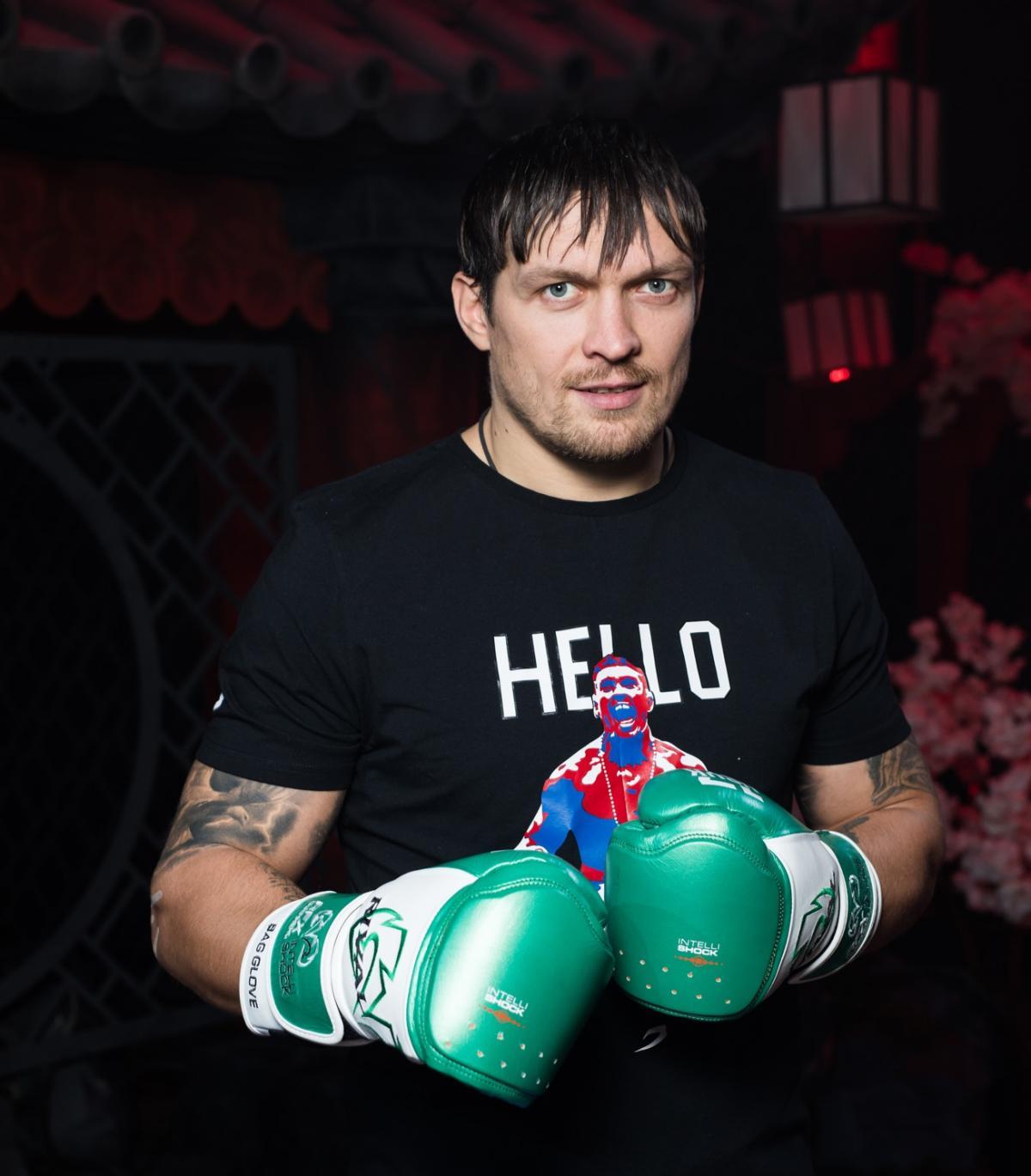 Александр Усик / фото пресс-служба WePlay Esports