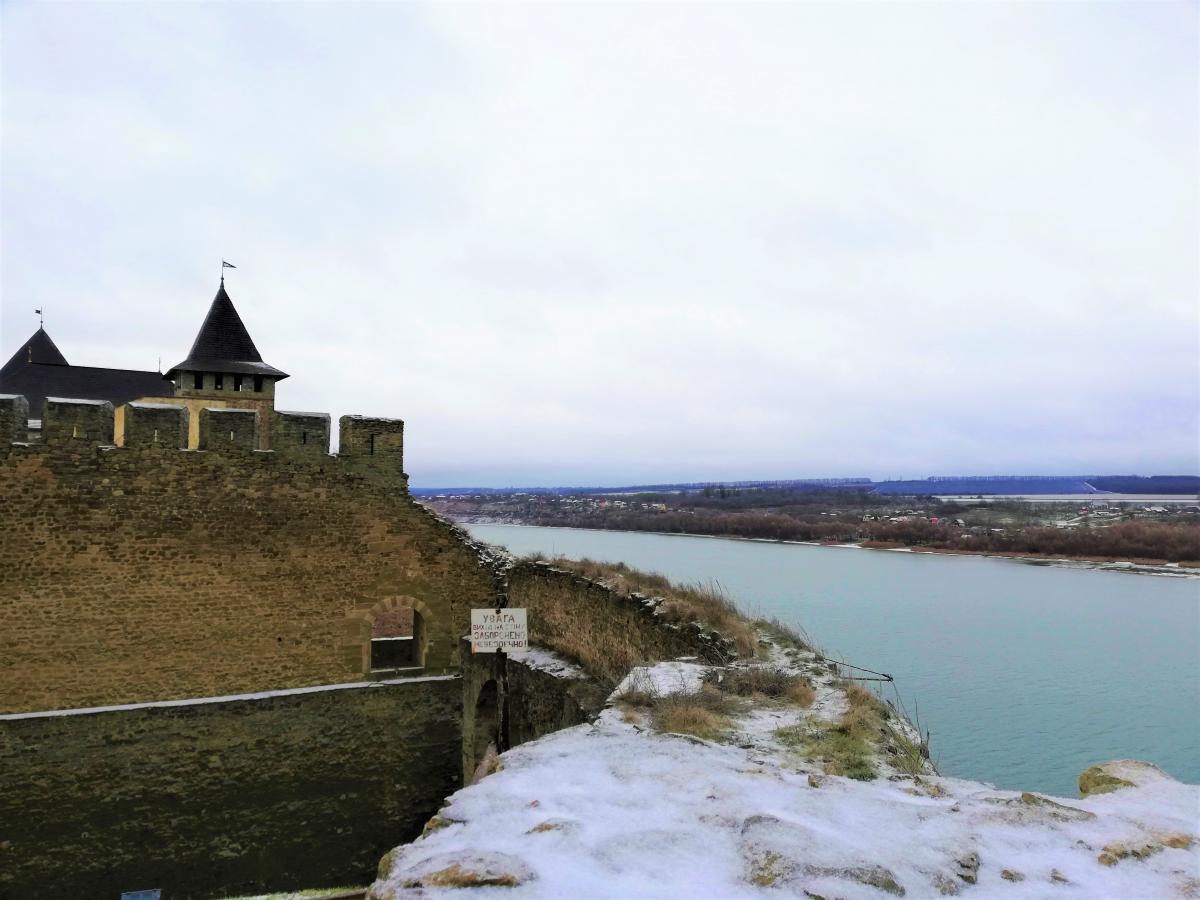 Хотинская крепость – одна из самых известных туристических локаций Буковины / фото Марина Григоренко