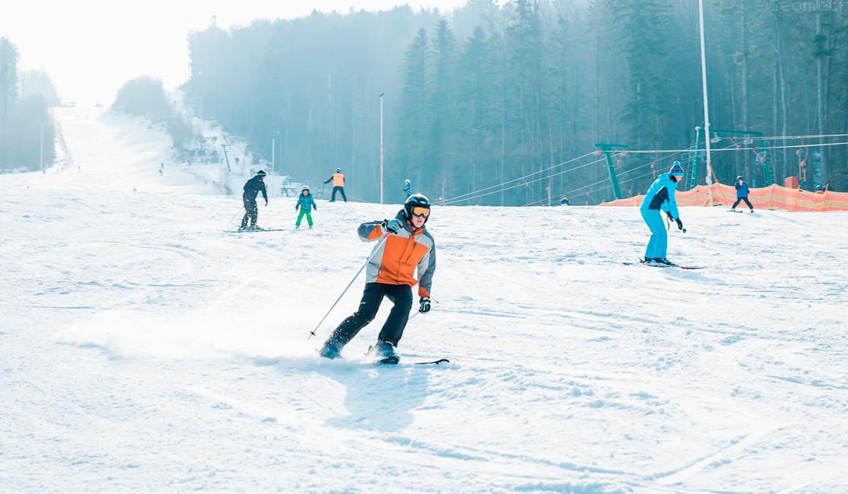 В «Мигово» есть трассы для лыжников разного уровня подготовки / фото migovo.com.ua