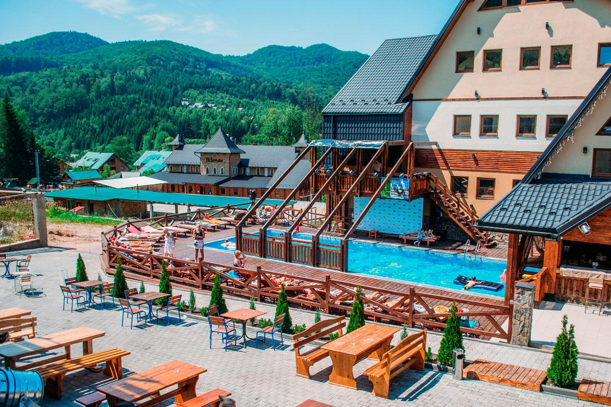 Летом в «Мигово» тоже есть чем заняться / фото migovo.com.ua